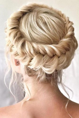 Hairstyles with Fishtail Braid Crown picture1