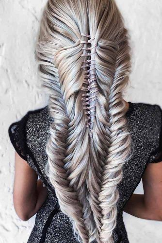Fishtails Into 4 Strand Ropes #fishtailbraids #braids