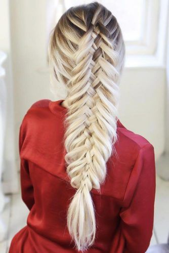 Woven Fishtail #fishtailbraids #braids