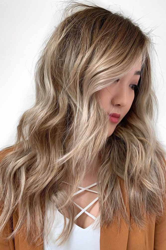 Cold Highlights For Brown Hair #blondehair #highlights