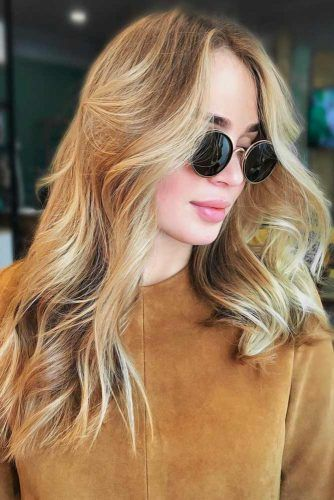 Natural Blonde #blondehair #highlights