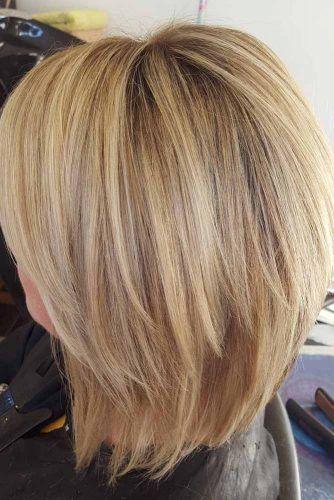 Blonde Lob Haircut #haircutstyles #haircuts #bobhaircut
