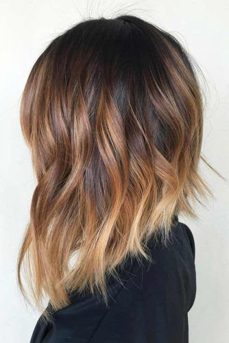 Wavy Medium Length Haircut #haircutstyles #haircuts #mediumlength