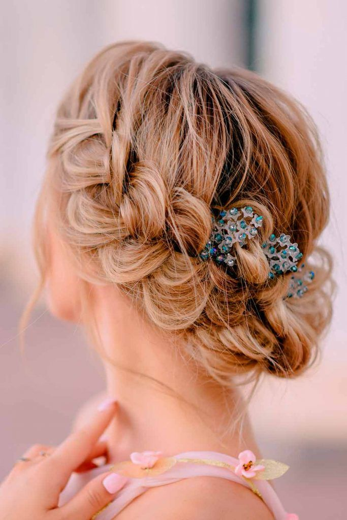 Halo Braids With Accessories