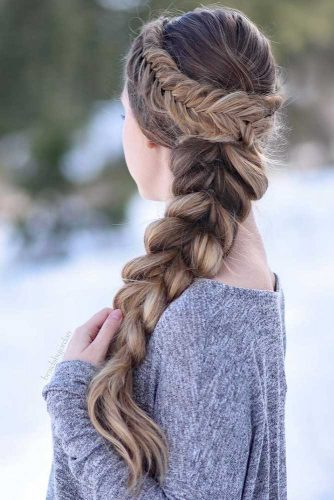 Pull-Through Halo Braid picture1