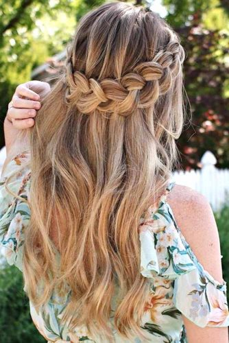 Creative Ideas of Halo Braids picture2