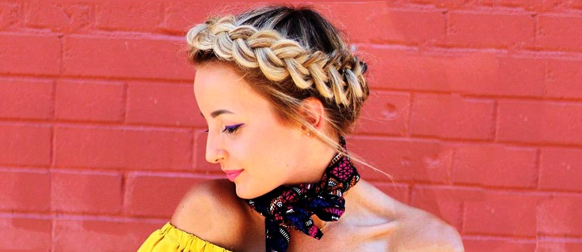 24 Fabulous Halo Braid Ideas To Opt For Lovehairstyles Com