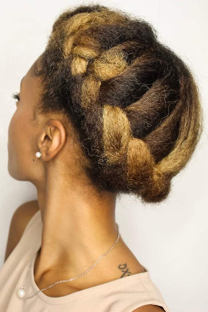 Halo Braids For Natural Hair French #briads #updo
