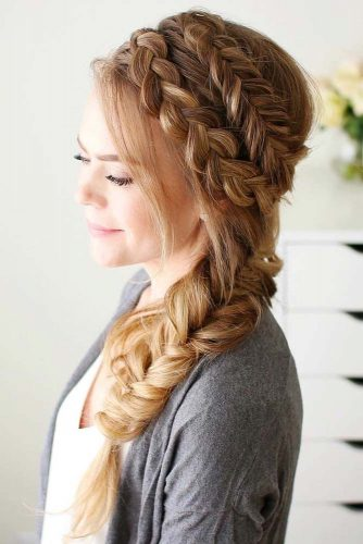 Double Braided Hairstyles picture1
