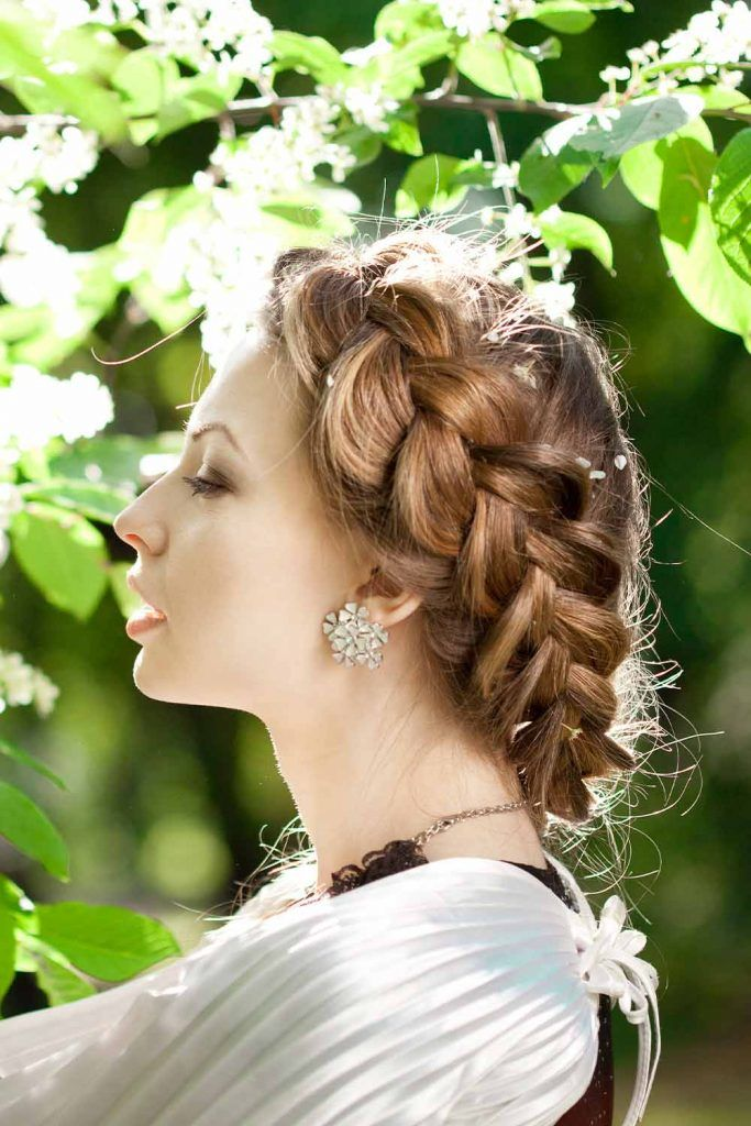 Classic Halo Braid Hairstyle