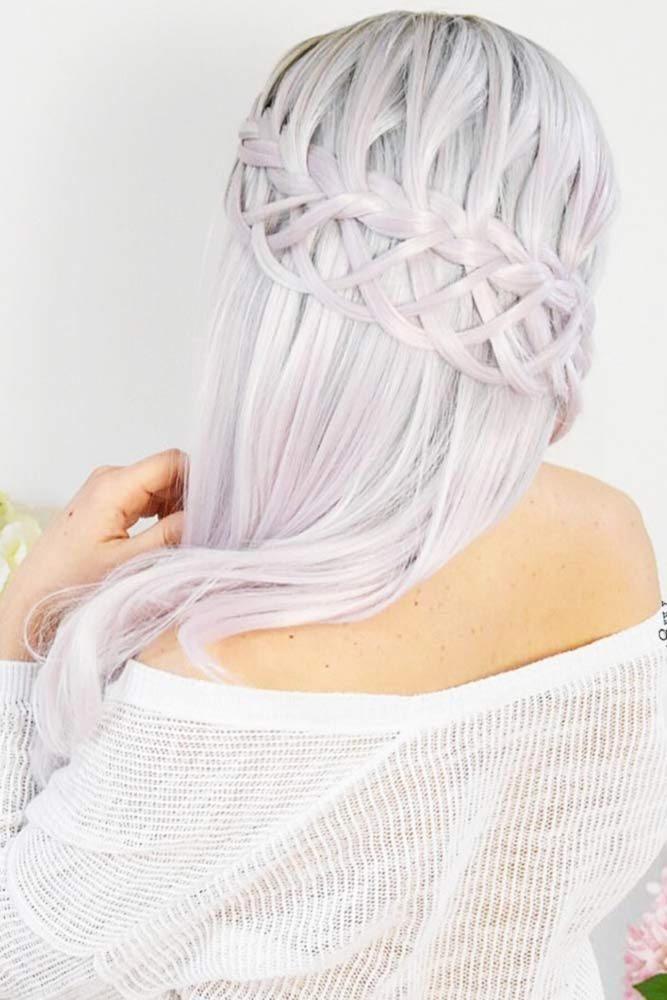 Blonde Waterfall French Braids #waterfallbraid #braids #hairstyles