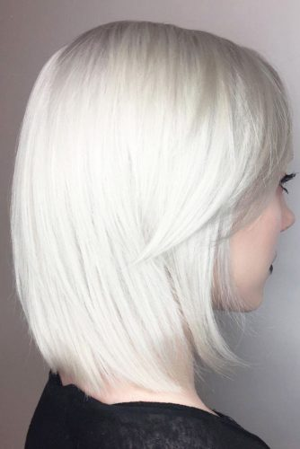Lob Hairstyles with Bangs picture3