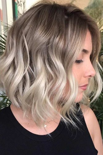 Wavy Lob Hairstyles picture1