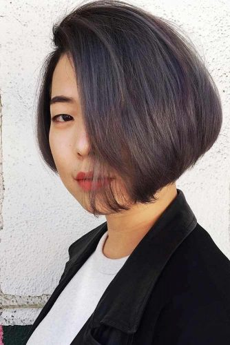 Asymmetrical Bob Haircuts to Try Something New picture3