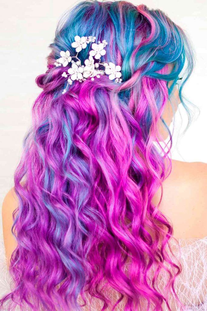 Wild Orchid Shade of Violet Ombre