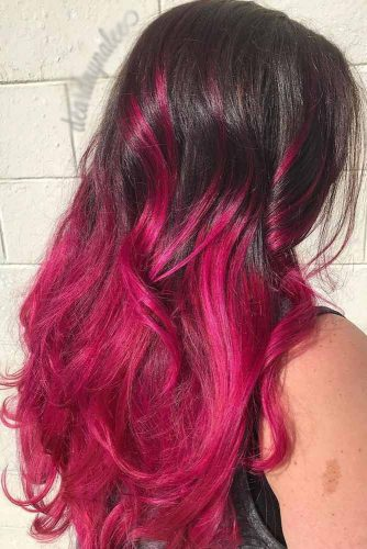 Obsessed with Purple Ombre Fuchsia picture1