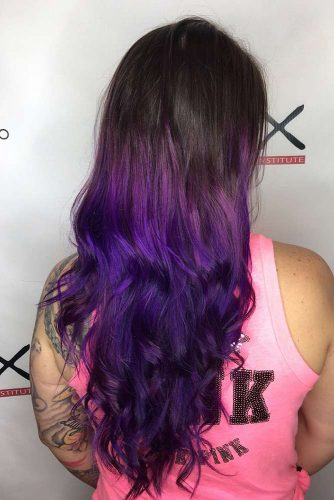 Violet Shades of Purple Ombre picture3