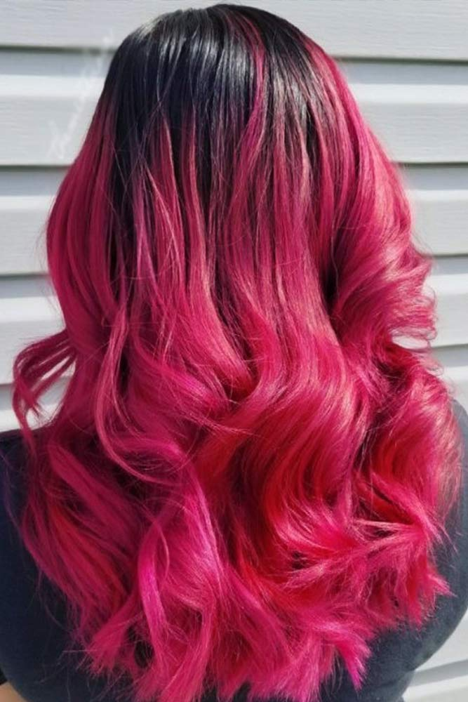 Obsessed with Purple Ombre Fuchsia picture