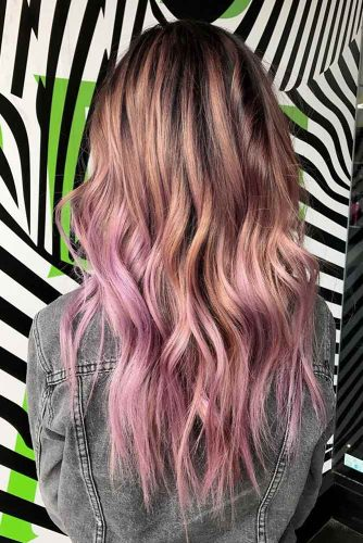 Smoky Lavender Ombre Hair picture
