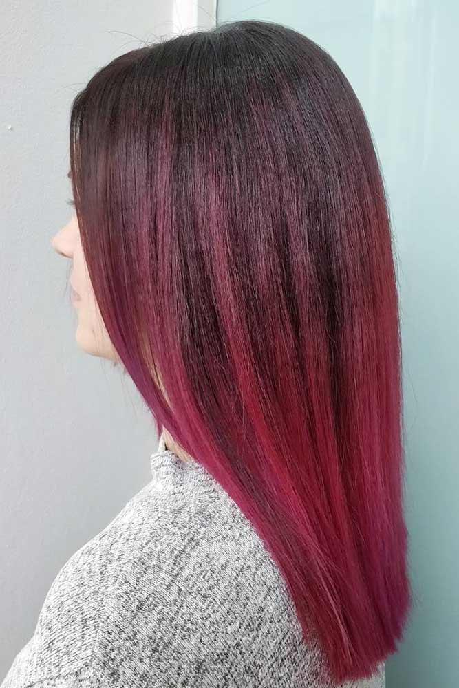 Magenta Toned Purple Ombre picture