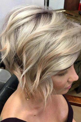 Short Layered Bob Haircut #shortbobhairstyles #bobhairstyles #hairstyles #layeredhair