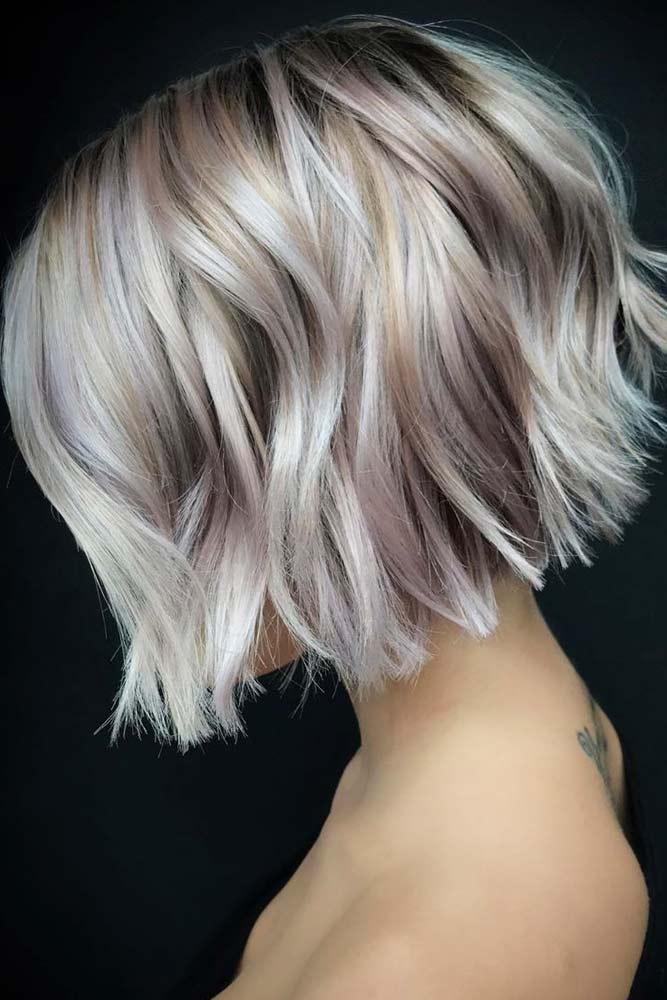 Short Stacked Bob Hairstyles #shortbobhairstyles #bobhairstyles #hairstyles #haircuts