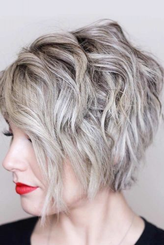 Wavy Short Bob Hairstyles picture1