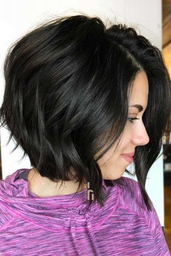 Angled Bob with Light Waves