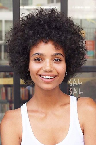 Curly Bob Hairstyles for Square Face picture2