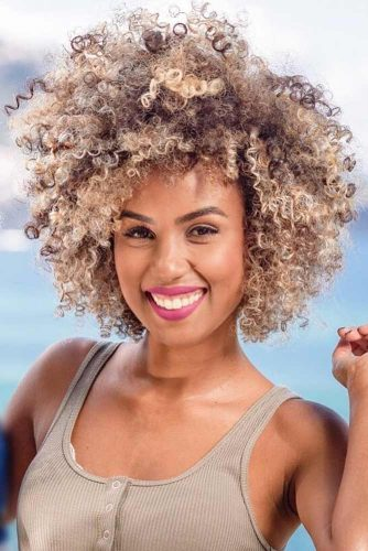 Curly Bob Hairstyles for Oval Face picture3