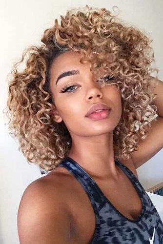 Curly Bob Hairstyles for Oval Face picture1