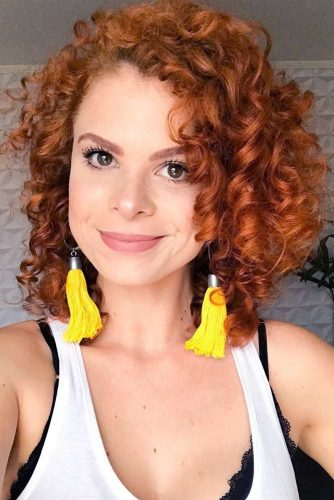 Curly Bob Hairstyles for Square Face picture3