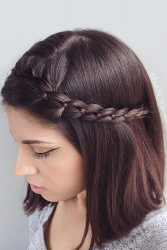 Braided Shoulder Length Hair Styles picture3