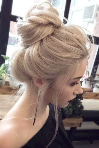 Easy Updos with High Buns picture2