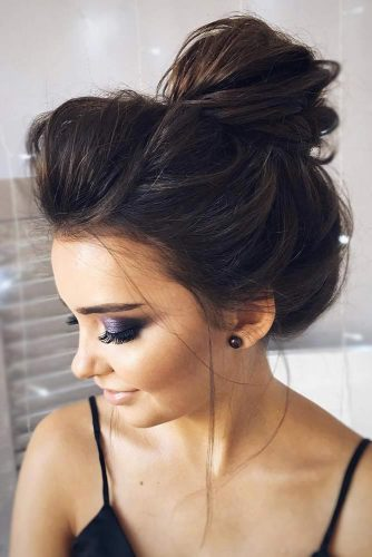 Easy Updos with Top Knots picture3
