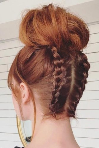 Easy Updos with Top Knots picture1