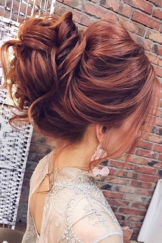 Updo Hairstyles with Bun picture1