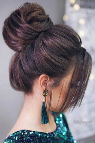 Updo Hairstyles with Bun picture2