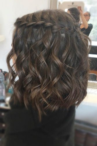 Waterfall Braids for Short Hair picture1