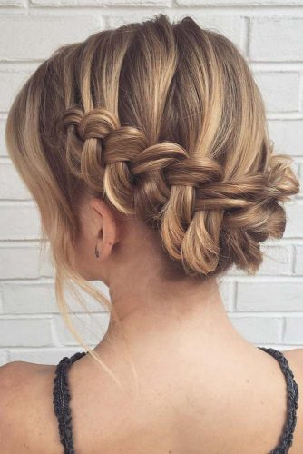 Waterfall Braids for Short Hair picture2