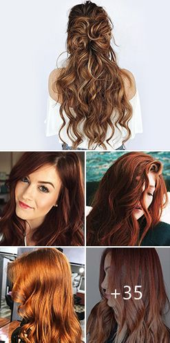 Auburn Hair Color Ideas - Light, Medium & Dark Auburn Hair Styles