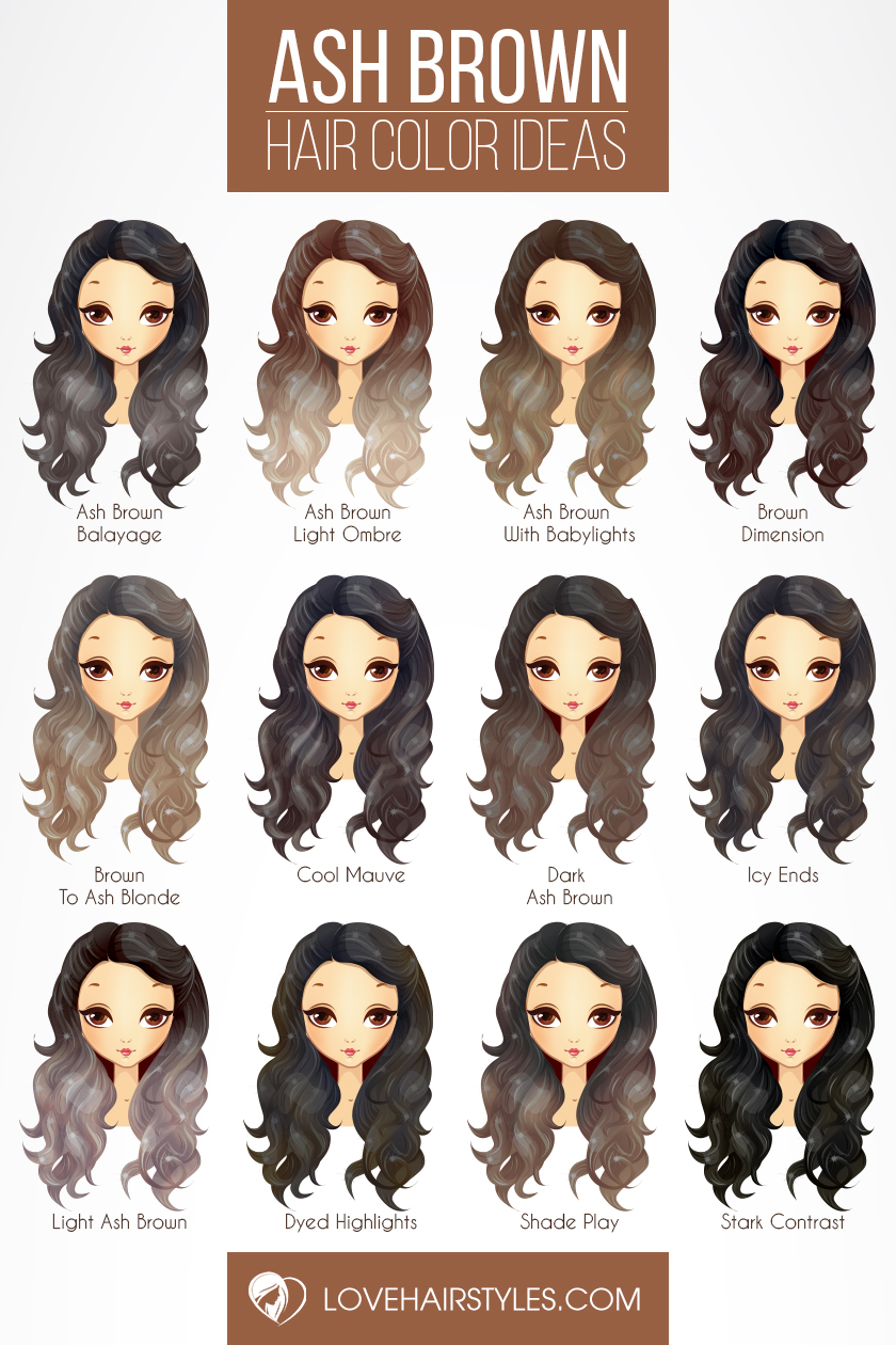 50 Sassy Looks With Ash Brown Hair Lovehairstyles Com