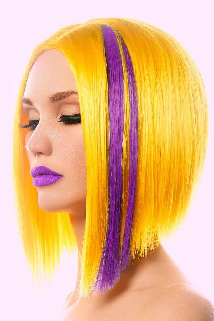 A-Line Haircut Medium Length Hair
