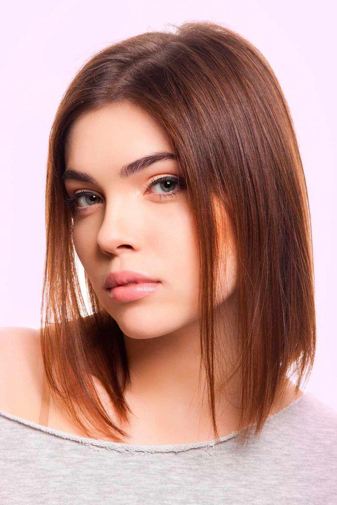 A-Line Haircut Long Hair