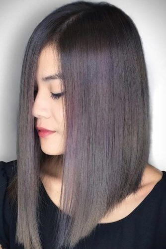 Super Long A-Line Hair #lob #longhair #alinebob #straighthair #oilsleekhair
