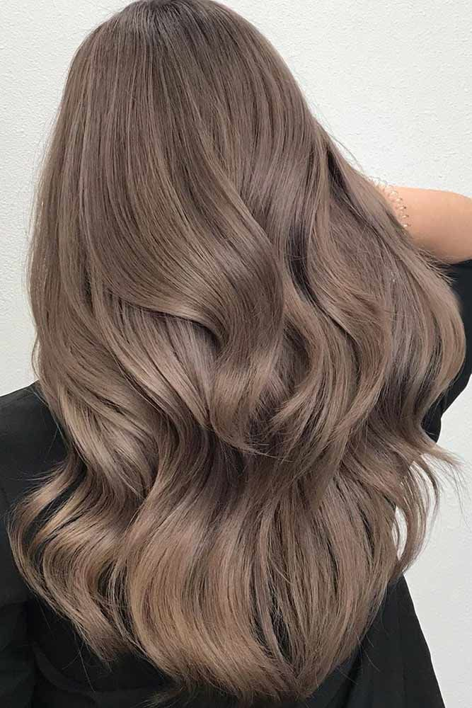 Does Ash Brown Hair Color Cover Gray? #ashbrownhair #brownhair