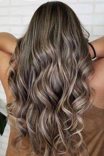 Beautiful Ash Brown Hair Ideas For Long Hair Layers #ashbrown #brunette