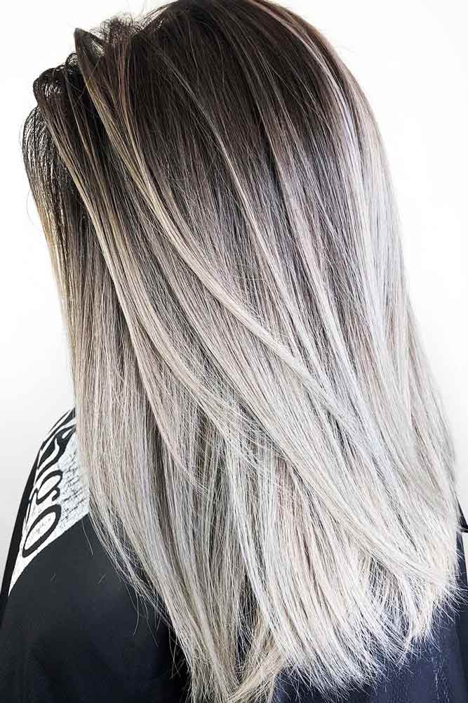 Dark Ash And Cool Dirty Blonde Hair #brunette #blondehair #ombre