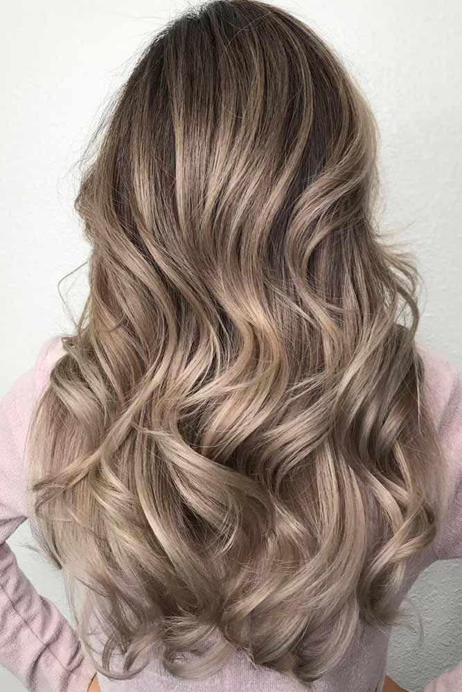 Light Ash Brown Hair Color Latte #ashbrown #brunette
