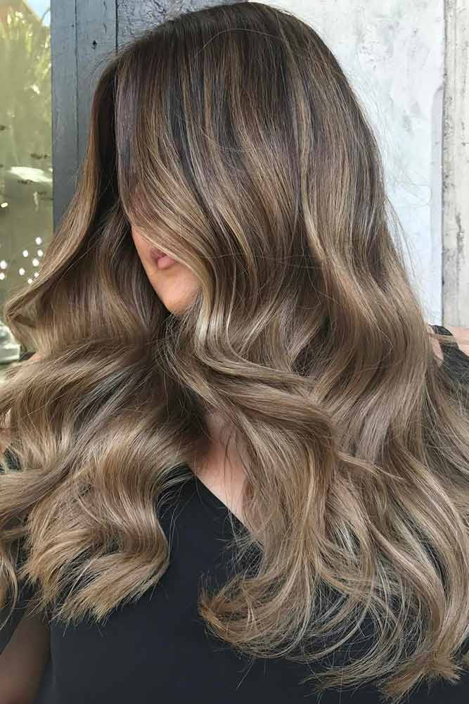 Beautiful Ash Brown Hair Ideas for Long Hair picture3